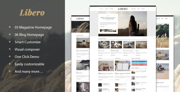 Libero v1.0 – Blog & Magazine