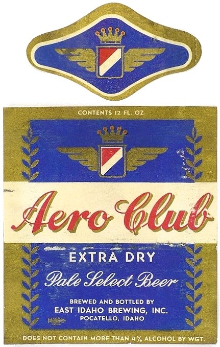 Aero-Club-Pale-Select-Beer-Labels-East-Idaho-Brewing-Company