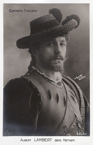 Albert Lambert in Hernani (1920)
