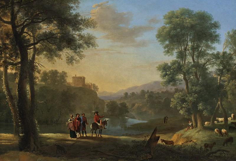 Herman van Swanevelt - Classical Landscape