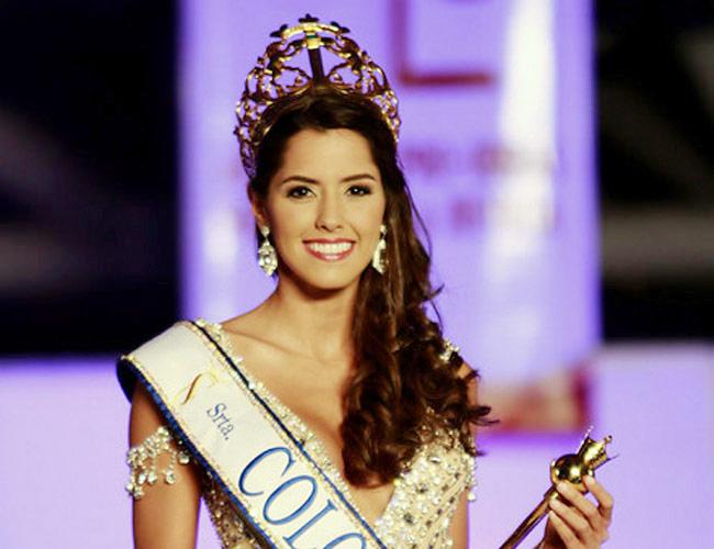 Колумбийка Паулина Вега на конкурсе «Мисс Вселенная 2014»