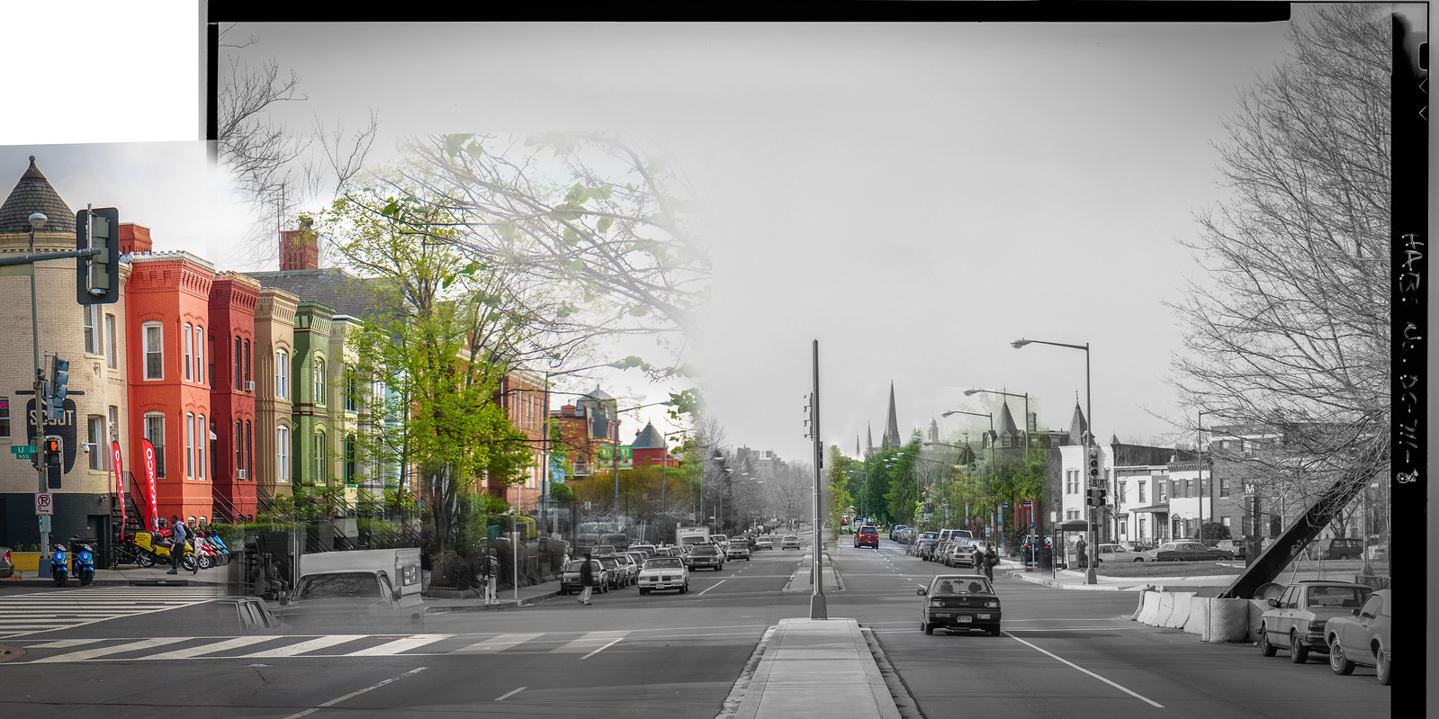 Photo Friday: Vermont Avenue Then and Now, Washington, DC USA