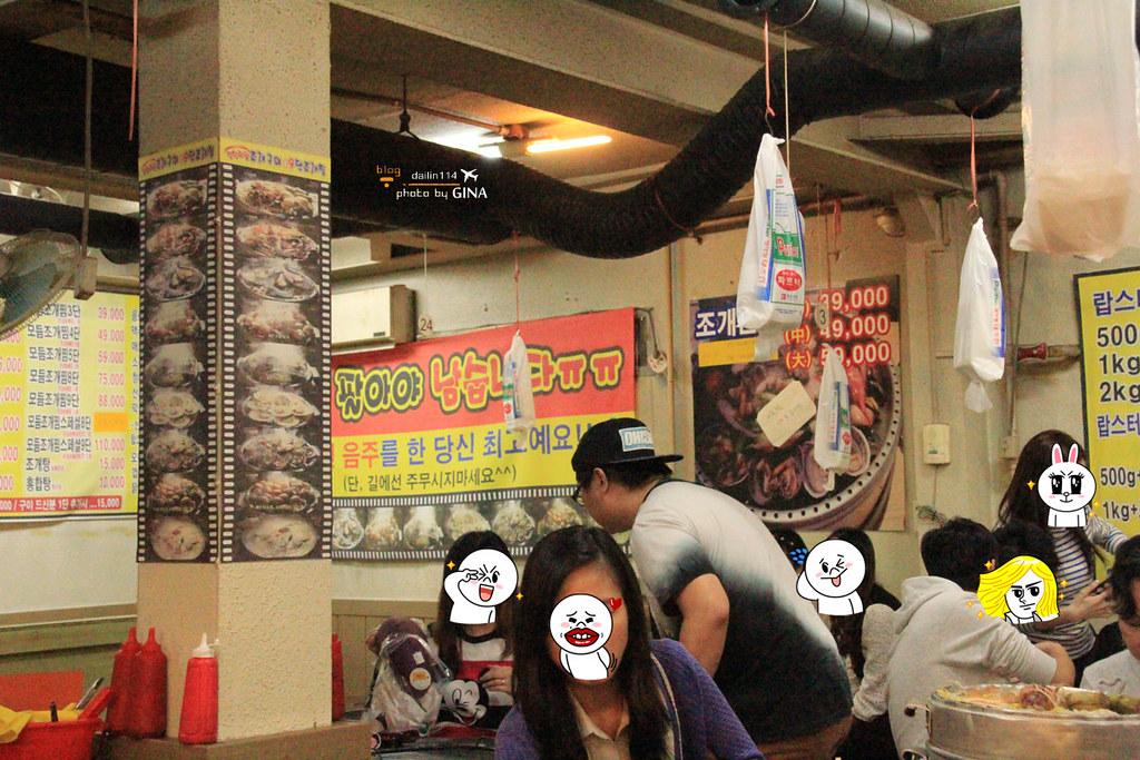 【首爾海鮮塔】奉天站海鮮九層塔(무한조개까까)食尚玩家22K出國去!首爾超值YO 浩角翔起外景餐廳之一 @GINA環球旅行生活|不會韓文也可以去韓國 🇹🇼