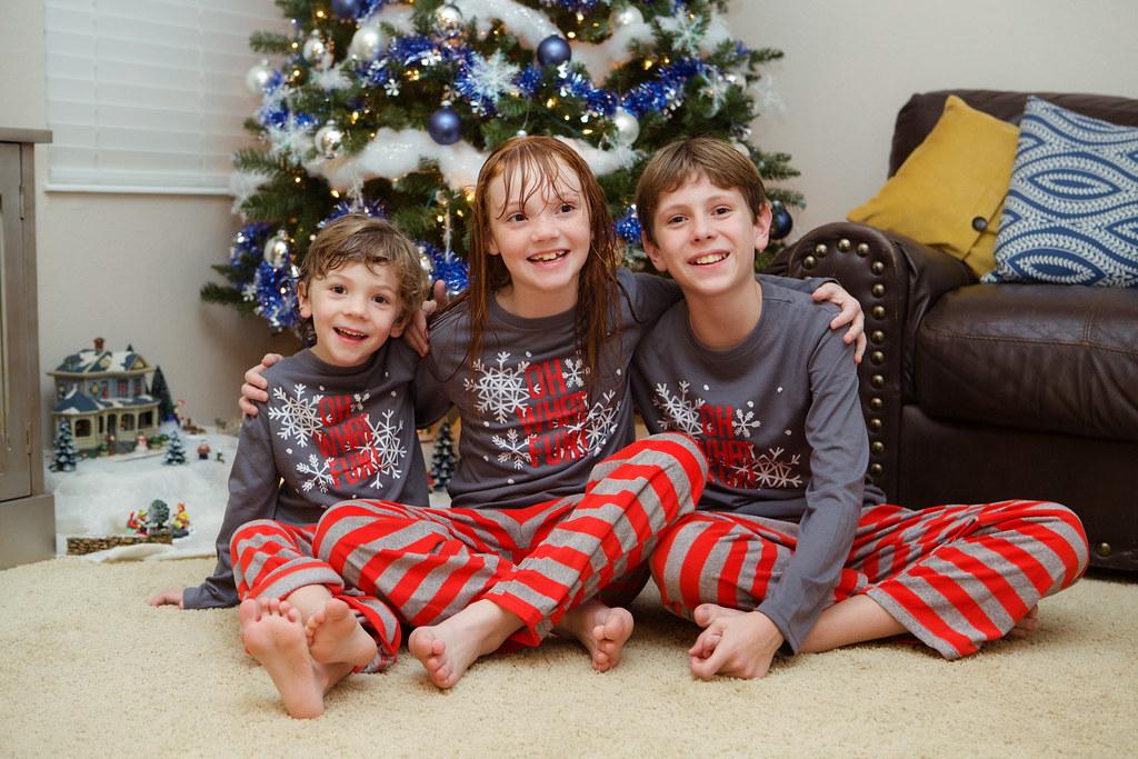 Matching-Christmas-Eve-Pajamas