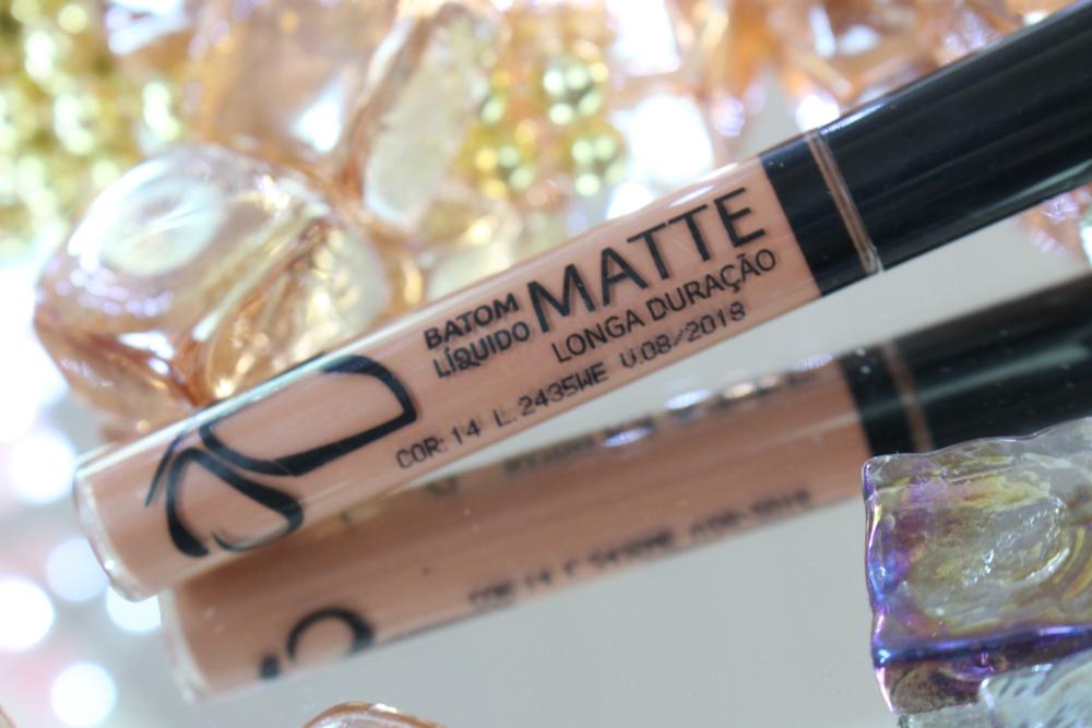 Top Batons Líquido Matte Vult nas cores 09, 11, 12, 14 e 15 | Claudia  KX15