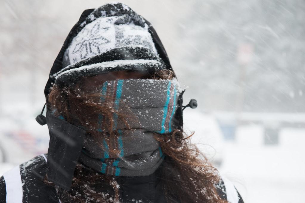 Nikki in Snowmageddon