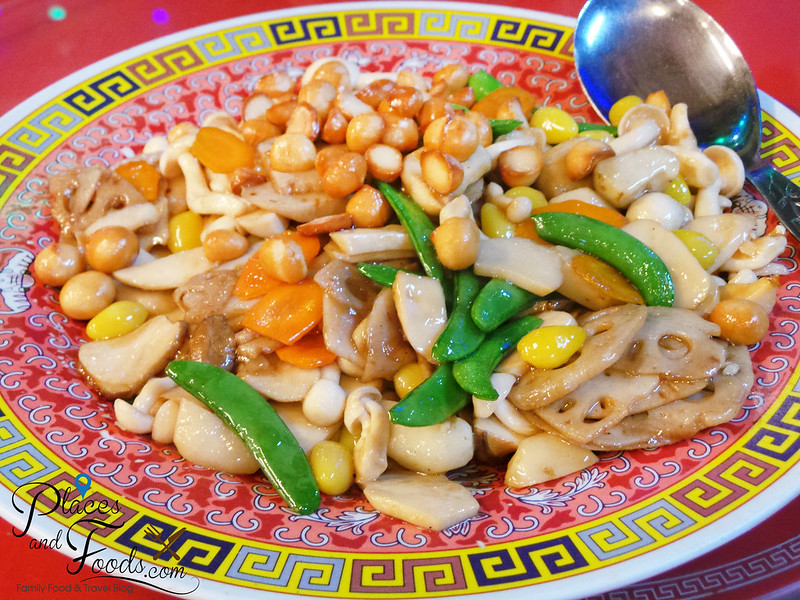 wong sifu pudu plaza stir fried lotus with macadamia nuts