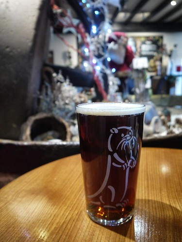 Otter Claus at the Anchor
