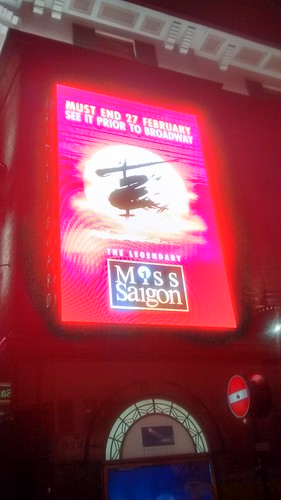 Miss Saigon, Prince Edward Theatre Jan 16 (3)