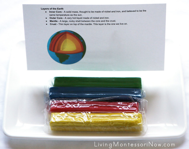 Layers of the Earth Modeling Tray