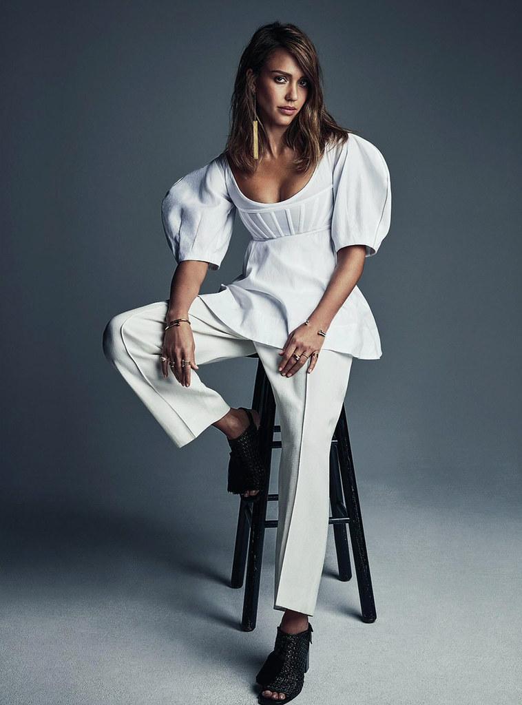 Джессика Альба — Фотосессия для «Vogue» AU 2016 – 3
