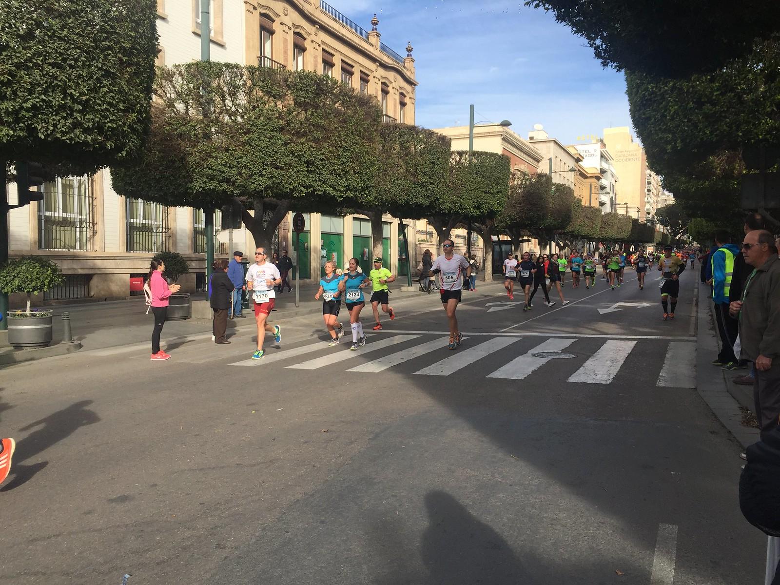 Medio Maratón Ciudad de Almería 2016