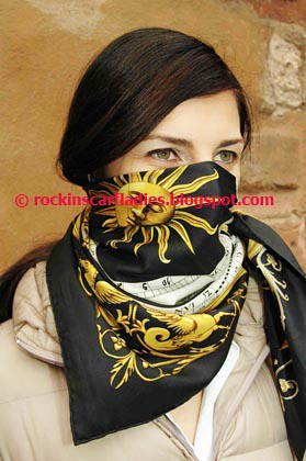 fetish neck scarf