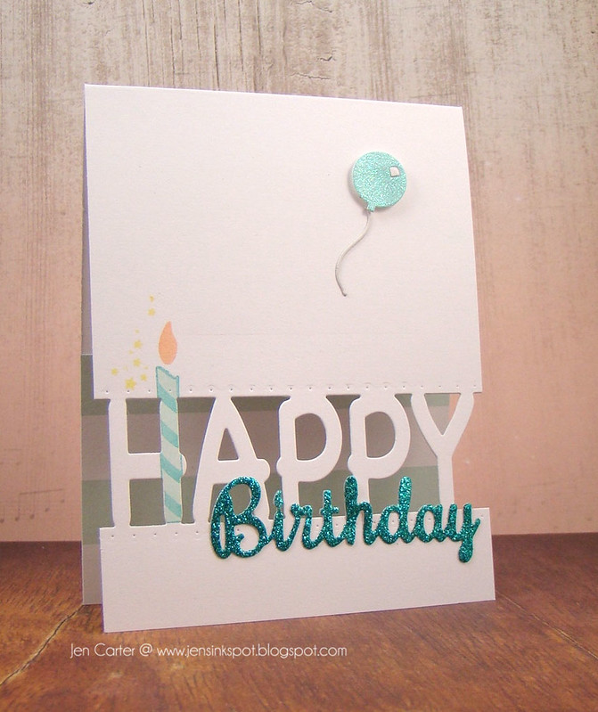 Jen Carter Happy Birthday Candle 2