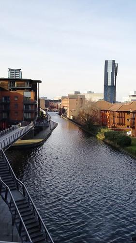 Canal basin, Birmingham