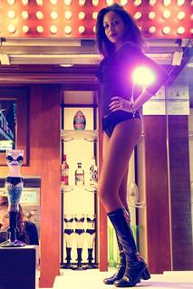 Bar girl in Las Vegas