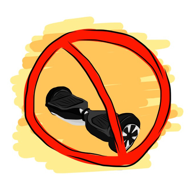 Hoverboards banned on campus