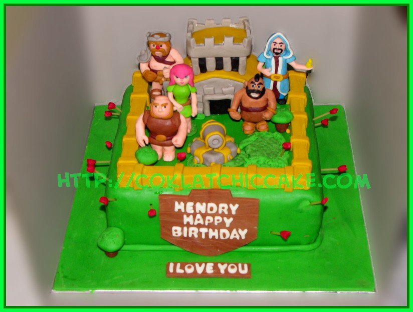 Cake Clash of Clan