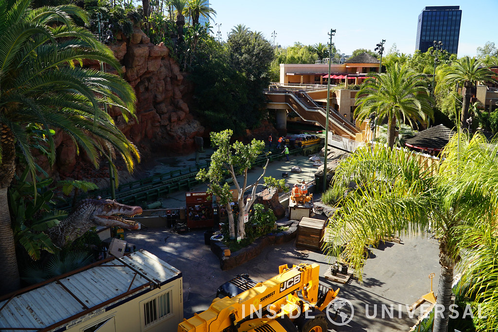 Photo Update: February 6, 2016 - Jurassic Park: The Ride