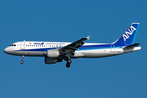JA8997 ANA All Nippon Airways Airbus A320-200 Tokyo Haneda