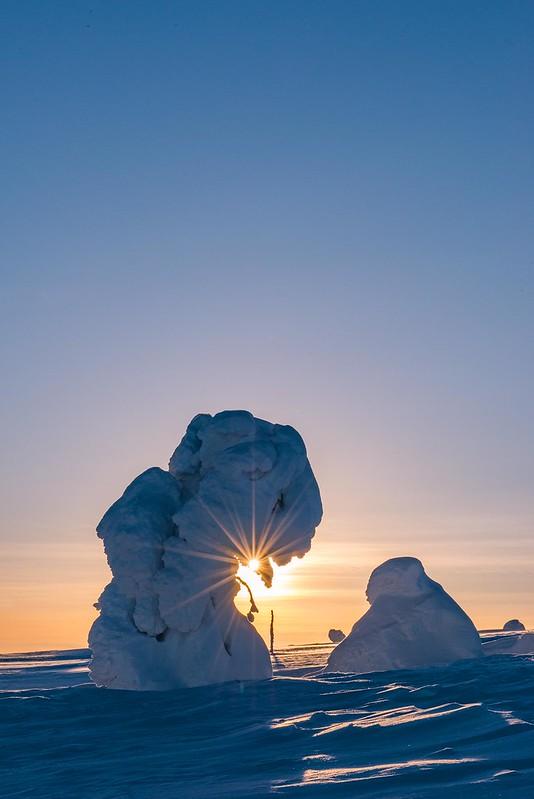 Sunset - Äkäslompolo