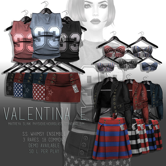 NEW! Valentina E. S.S. Whimsy Nautical Inspired GACHA @ Whimsical!