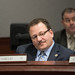 Rep. Tony D'Amelio listens to testimony during a public hearing in the General Law Committee.