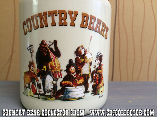 2015 Walt Disney World Country Bear Jamboree Sipper Jug - Country Bear Collector Show #005