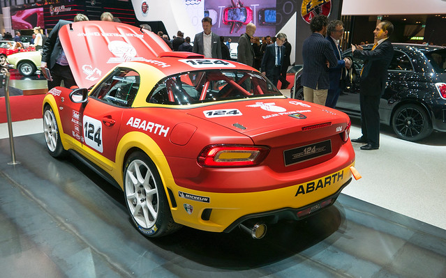 Image of Abarth 124 Spider Rally