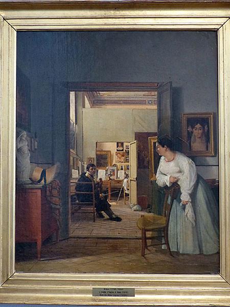 atelier d'Ingres à Rome