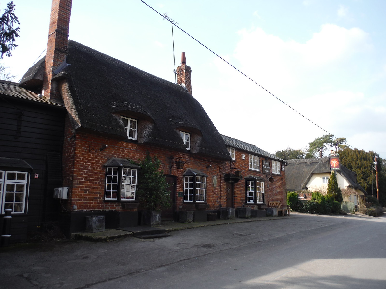The Axe & Compasses, Arkesden SWC Walk 116 Wendens Ambo [Audley End station] Circular
