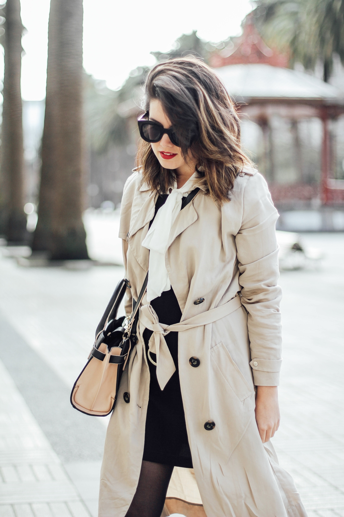 styleheroes-dorothy-perkins-pinafore-dress-trench-baby-marta-celine-sunglasses-streetstyle myblueberrynightsblog