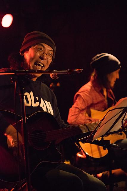 渡辺繁和 with モトイ live at Outbreak, Tokyo, 10 Mar 2016. (7M2)-00044