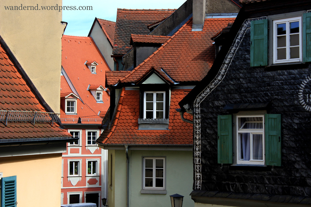 Altstadthäuser in Bamberg