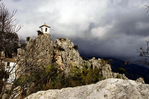 el castell de gualdalest