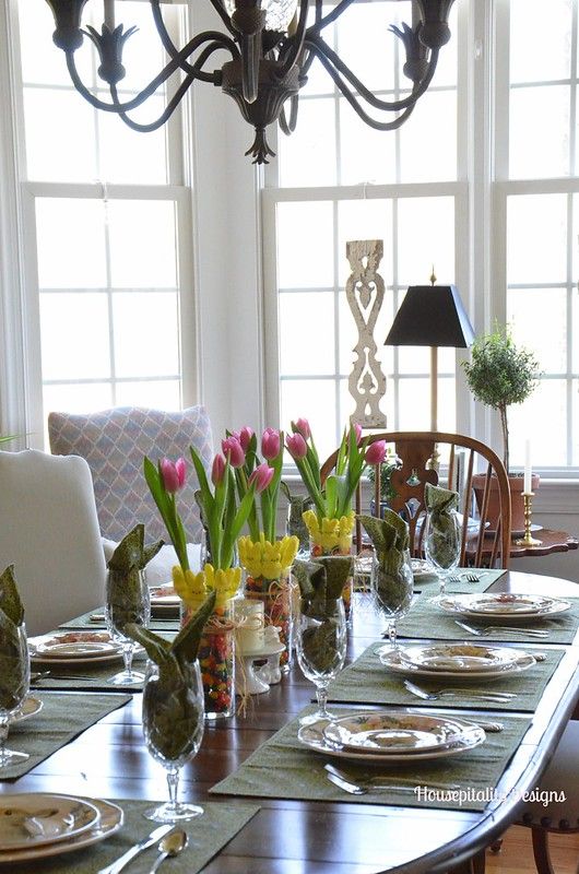 Spring/Easter Tablescape - Housepitality Designs