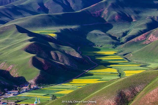 祁連卓爾山