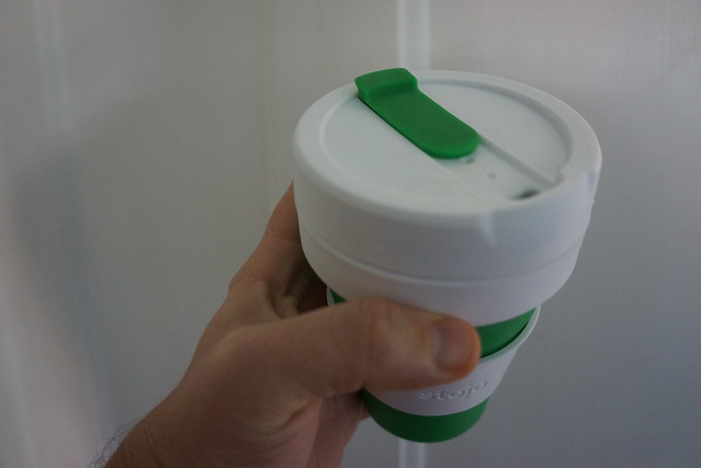 Stojo collapsable coffee cup