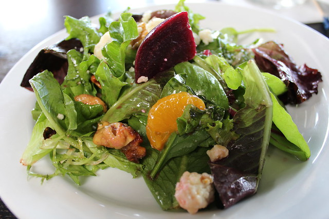 Beet Salad at The Crab House