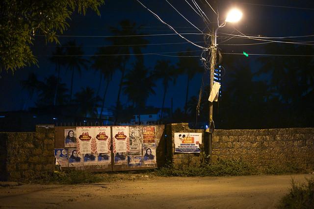 Kochi back streets by night