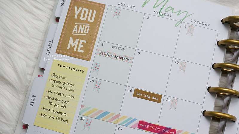 Plan With Me Sunday | LoveCharmaine.com