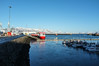 Reykjavík harbor and Mt. Esja