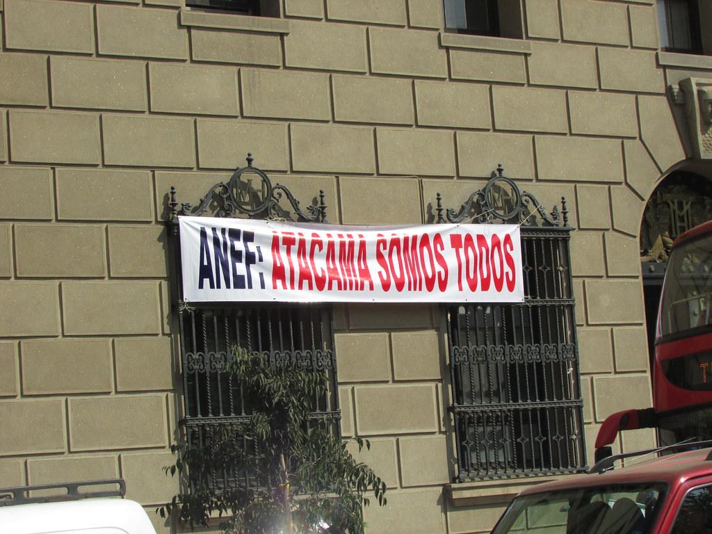 Dirigentes AFIICH Atacama están en Santiago, movilizados por sus demandas - 4 Abril 2016