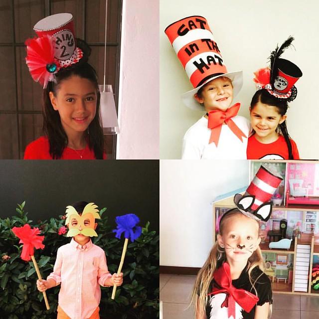 MARUJATZ KIDS ARE THE HAPPIEST! #marujatz #marujatzguate #marujatzworldwide #milliner #millinery #drseuss #thing1 #thing2 #marujatzkids #happykids #minitophat #tophat