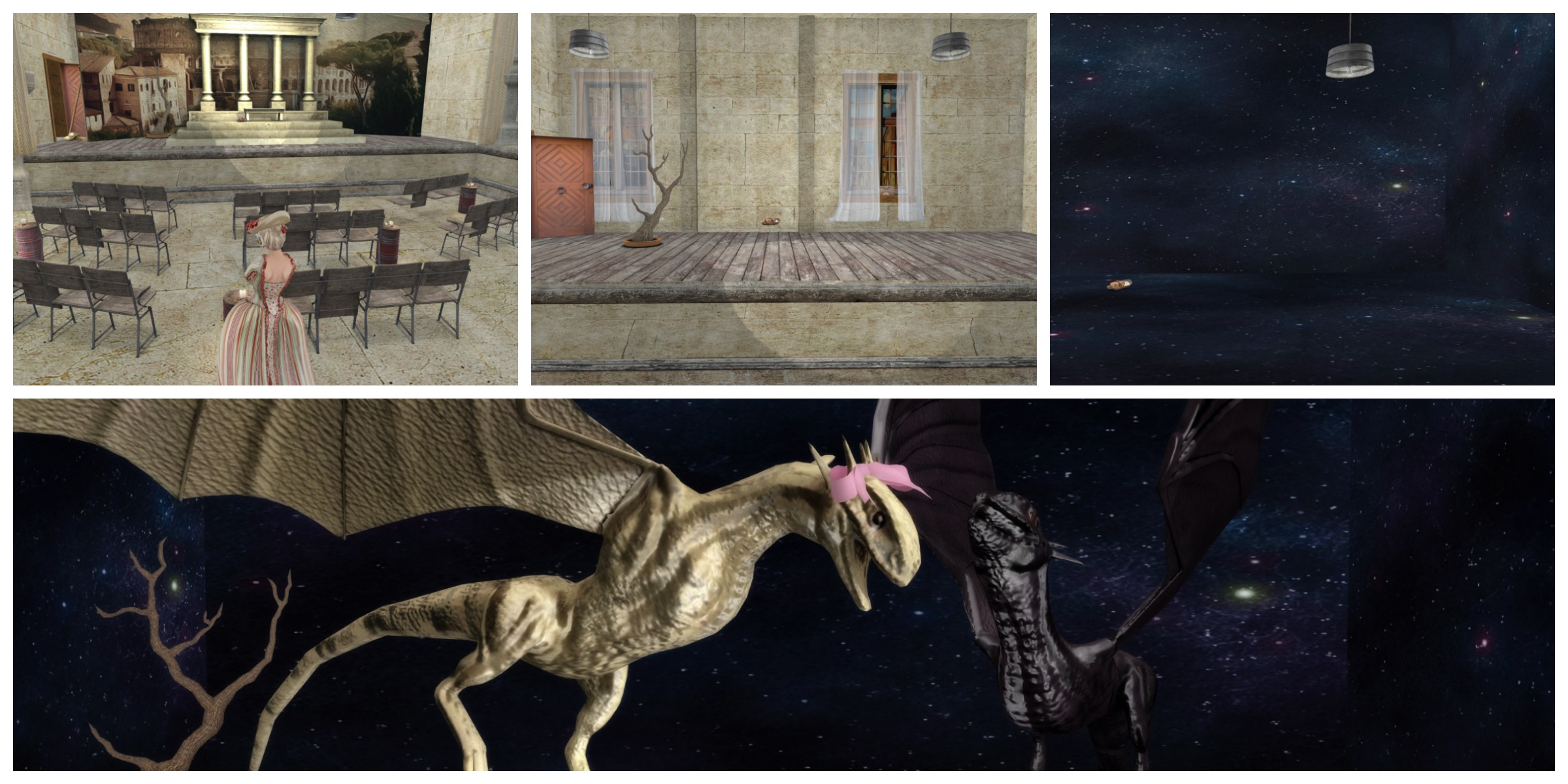 Dandelion & Kearns Bühnenaufbau