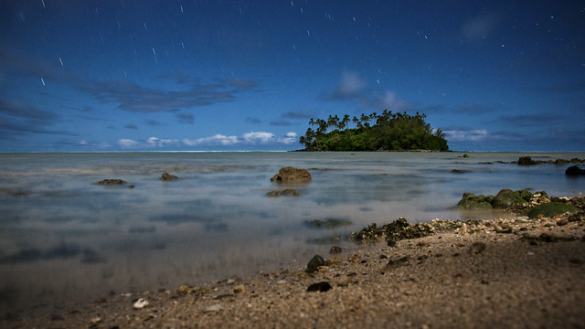 Muri Beach Starfall