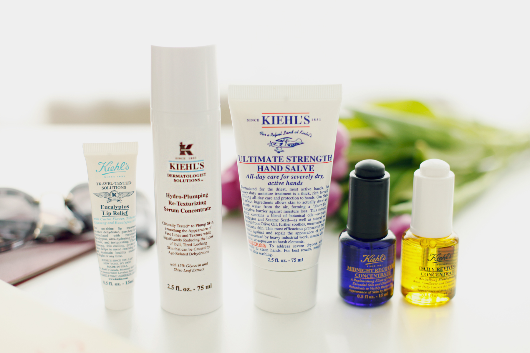 kiehl's travel essentials reise new york city world of kiehl's travelling miniature beauty beautyblogger handgepäck hand luggage sunglasses miu miu beauty tipps und tricks daily revival cats & dogs ricarda schernus beautyblogger düsseldorf 5