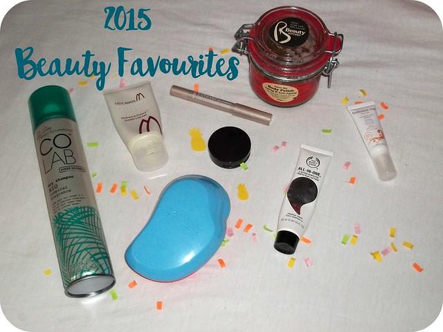 2015 Beauty Favourites 1