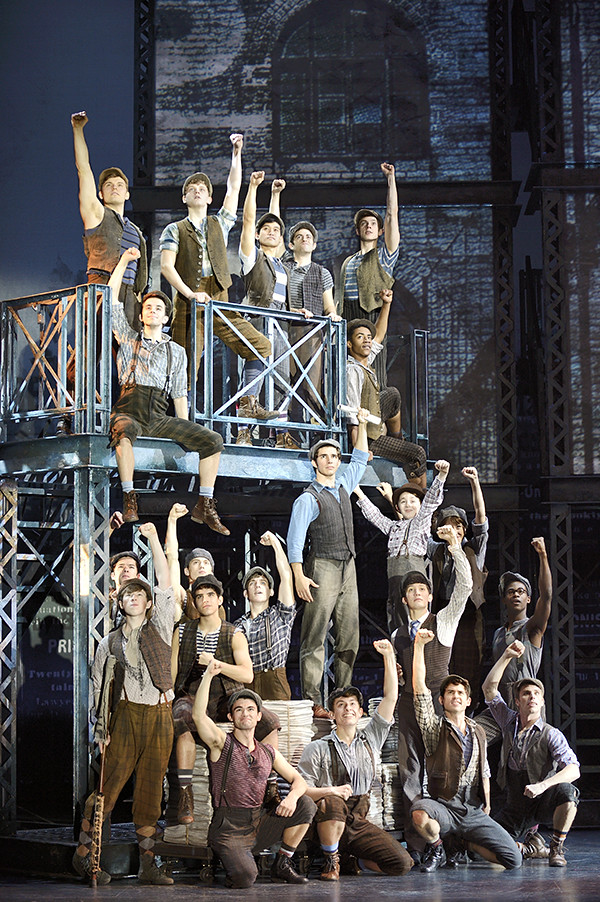 disneys newsies california musical theatre