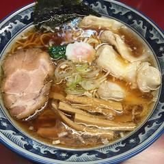 ワンタン麺@春秋庵